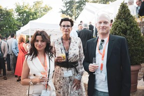 Tatiana Lang (Banana Republic Office), Nathalie Cravatte (NC Coaching - Coach de vie et consulting) et Yannick Lang (Banana Republic Office) ((Photo: Patricia Pitsch/Maison Moderne))