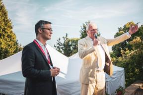 Julien Delpy (Maison Moderne) et Son Excellence Monsieur Han-Maurits Schaapveld (Ambassadeur du Royaume des Pays-Bas) ((Photo: Patricia Pitsch/Maison Moderne))