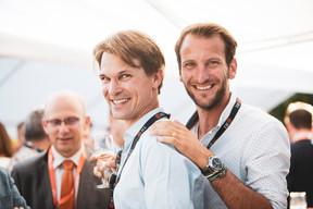 Matthias May (Engel & Völker Luxembourg) et Erick Durand ((Photo: Patricia Pitsch/Maison Moderne))