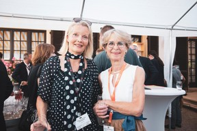 Marianne Van Den Eerenbeemt (Livinlux) et Marleen Watté-Bollen (Cabinet d'Avocat Marleen Watté-Bollen) ((Photo: Patricia Pitsch/Maison Moderne))