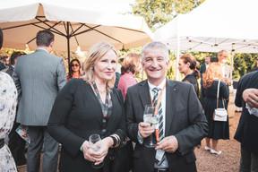 Pascale Kraft (Medi-K) et Gunter Krings (Viessmann Luxembourg) ((Photo: Patricia Pitsch/Maison Moderne))