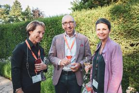 Marie Lucas (M3 Architectes), Michel Knepper (Grossfeld) et Diane Heirend (Diane Heirend Architecture & Urbanisme) ((Photo: Patricia Pitsch/Maison Moderne))