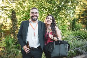 Steve Verlinden (Nadi Solutions) et Laurie Cros (maison Moderne) ((Photo: Patricia Pitsch/Maison Moderne))