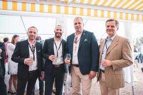 Yannick Sausse (My Jobest), Cédric Michel (Car De Lux'), Pietro Marchione (Groupe Marchione) et Massimo Del Medico (NDM Architectura) ((Photo: Patricia Pitsch/Maison Moderne))