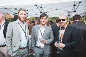 Benoît Moulin (Domos FS Ltd), Joe Malago (Techni-Group) et Stéphane Di Carlo (EGB Hornung & Associés) ((Photo: Patricia Pitsch/Maison Moderne))