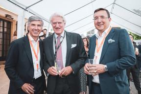Romain Muller (JLL), Roel Pels et Cornelius Bechtel (APEX) ((Photo: Patricia Pitsch/Maison Moderne))