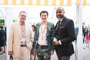 Hervé Collignon (e-TIC), Guillaume Chatelain (Serpico) et Lino Varela (150 Experience) ((Photo: Patricia Pitsch/Maison Moderne))