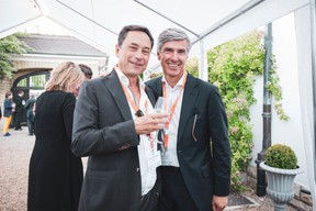 Yves Rommelfanger Yves (Avenis) et Romain Muller (JLL) ((Photo: Patricia Pitsch/Maison Moderne))