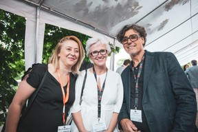 Monica Azevedo, Carole Henrar (Grow to Excellence) et Alain Gadreau (TRIODE Mediation & Coaching) ((Photo: Patricia Pitsch/Maison Moderne))