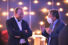 Gilles Roth (CSV) à gauche ((Photo: Simon Verjus/Maison Moderne))