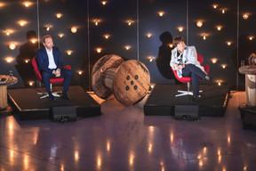 Gilles Roth (CSV) et Michèle Detaille (Fedil) ((Photo: Simon Verjus/Maison Moderne))
