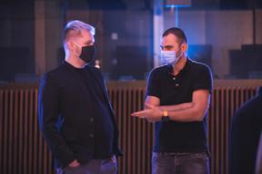 Charles Maes (Good Vibes) et Michel Gavage (MGS) ((Photo: Simon Verjus/Maison Moderne))