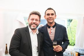 Nicolas Henckes (CLC) et Nazir Zubaïri (LHoFT) ((Photo: Christophe Debailleul/Maison Moderne))