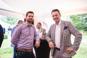 Tom Girardin (Pétillances) et Emmanuel Molinero (Manu Molinero) ((Photo: Christophe Debailleul/Maison Moderne))