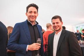 Michel Acunzo (Michel Acunzo) et Valentin Morello (Maison Moderne) ((Photo: Christophe Debailleul/Maison Moderne))