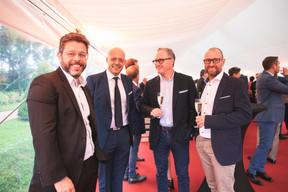 Nicolas Henckes (CLC), Fabien Zuili (Cap4Group), et Thierry Stas (Maprima) à droite ((Photo: Christophe Debailleul/Maison Moderne))