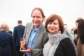 Tom Vermast (Vinçotte Letzebuerg) et Niv Dasgupta (Eurologix) ((Photo: Christophe Debailleul/Maison Moderne))