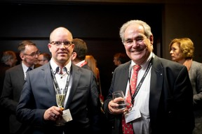Joachim Colles (Ista Luxembourg) et Norbert Friob (Prefalux) ((Photo: Patricia Pitsch))