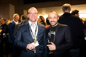 Joachim Colles (Ista Luxembourg) et Stéphane Di Carlo (EGB) ((Photo: Patricia Pitsch))