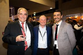 Norbert Friob (Prefalux), Fernand Ernster (Ernster) et Richard Karacian (Maison Moderne) ((Photo: Patricia Pitsch))
