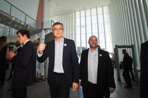 Félix Braz (ministre de la Justice) et Étienne Schneider (vice-Premier ministre). ((Photo: Nader Ghavami))