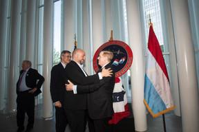 Étienne Schneider (vice-Premier ministre) et Randolph Evans (ambassadeur des États-Unis au Luxembourg). ((Photo: Nader Ghavami))