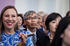Shigeji Suzuki (ambassadeur du Japon au Luxembourg). ((Photo: Nader Ghavami))
