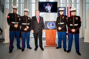 Au centre, Randolph Evans (ambassadeur des États-Unis au Luxembourg). ((Photo: Nader Ghavami))