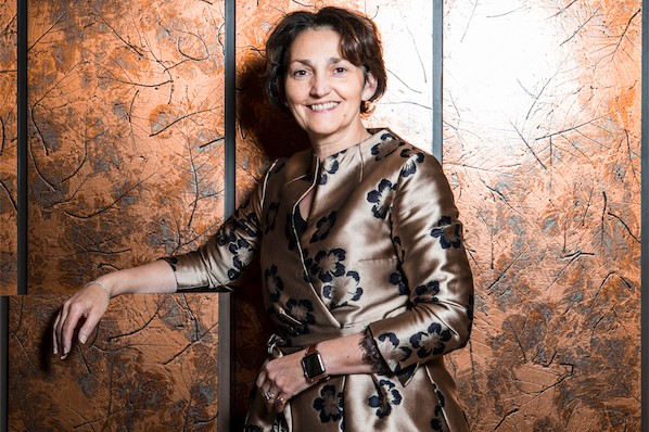 Fabienne Bozet: «Une entreprise reste avant tout une histoire d'hommes et de femmes, l'aspect humain est très important.» (Photo: Patricia Pitsch/Maison Moderne)