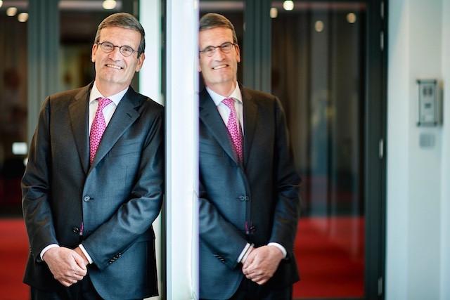 Bernard Gilliot, le président de la FEB, lance l'idée de nouveaux partenariats entre les entreprises des deux pays. (Photo: FEB/Triptyque)