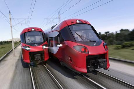 Les 34 nouveaux trains Coradia devraient être équipés du système de pilotage automatique d'Alstom. (Photo: CFL)