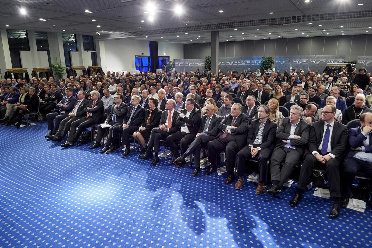 La CGFP avait invité 500membres des 65organisations qu'elle fédère pour célébrer ses 110ans. (Photo: Christof Weber)