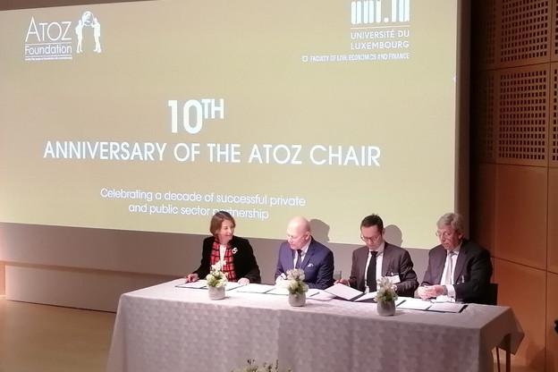 Forte de son succès aux yeux de l'Uni comme d'Atoz, la chaire en droit fiscal européen est prolongée d'au moins cinq ans. (Photo: Université du Luxembourg)