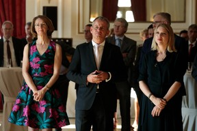 Catherine Bourin (ABBL), Frank Krings (Deutsche Bank) et Jenny de Nijs ((Photo: Matic Zorman))