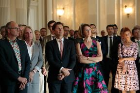 Claude Turmes (Ministre de l'Énergie), Colette Dierick (ING), Stanislas Chambourdon (KPMG), Catherine Bourin (ABBL) et Jessica Thyrion (ABBL) ((Photo: Matic Zorman))