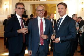 Gerdy Roose (BDO), Marc Hengen (Aca) et Pit Reckinger (Elvinger Hoss) ((Photo: Matic Zorman))