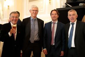 Paul Meyers, Jean-Paul Olinger (UEL) et Paul Marcy (Banque Raiffeisen) ((Photo: Matic Zorman))