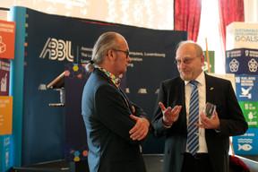 Claude Turmes (Ministre de l'Énergie) et Heinrich Kreft ((Photo: Matic Zorman))