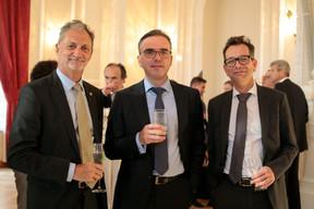 Marc Hemmerling (ABBL), Claude Hirtz, Erwan Le Saux (Banque BCP) ((Photo: Matic Zorman))