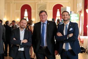 Michael Pechner, Yves Maas (ABBL) et Fabio Mandorino (ABBL) ((Photo: Matic Zorman))