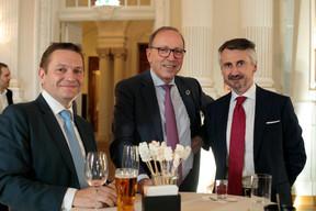 Mike Felten (Fortuna Banque) et Robert Scharfe (Bourse de Luxembourg) ((Photo: Matic Zorman))
