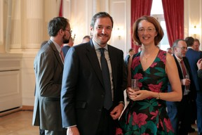 Steve Jacoby (Clifford Chance) et Catherine Bourin (ABBL) ((Photo: Matic Zorman))