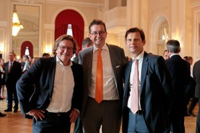 Stanislas Chambourdon (KPMG) et Maurice Bauer (Bourse de Luxembourg) ((Photo: Matic Zorman))