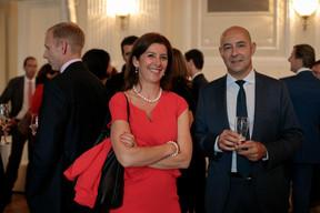 Nadia Manzari (CSSF) et Philippe Seyl (Clearstream) ((Photo: Matic Zorman))