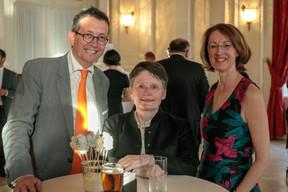 Maurice Bauer (Bourse de Luxembourg), Isabelle Goubin et Catherine Bourin (ABBL) ((Photo: Matic Zorman))