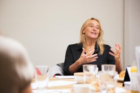 Blanche Weber, présidente du Mouvement écologique. (Photo: Jan Hanrion / Maison Moderne / Archives)