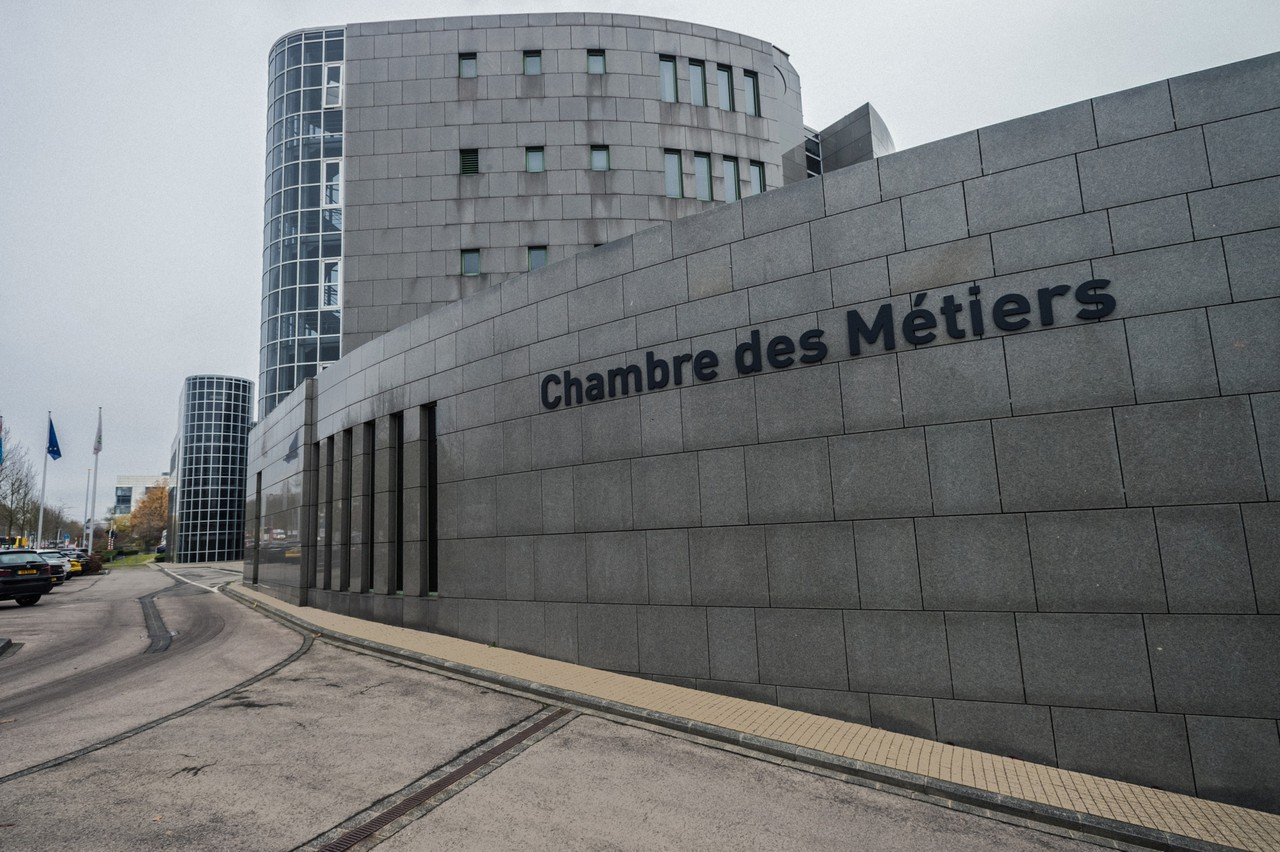 The Chambre des Métiers in Kirchberg, an interest group for the skilled trades and crafts sector Photo: Mike Zenari