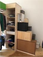 La chambre de Chiara à Pfaffenthal, 2018. ((Photo: SéverineZimmer et Agostini Chiara) )