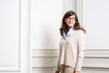 Gisèle Dueñas Leiva est convaincue du «mouvement tectonique» vers les investissements durables. (Photo: Anthony Dehez)