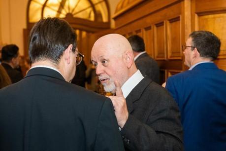 Paul Schonenberg lors d'un événement organisé en partenariat avec Amcham-Delano en février 2020. (Photo: LaLa La Photo/archives Delano)